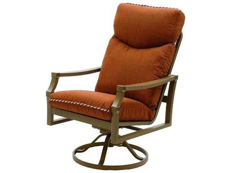 outdoor loveseats 5716 suncoast devereaux cushion cast aluminum arm swivel rocker