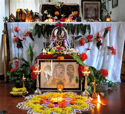 how to decorate mandir at home shubhada s