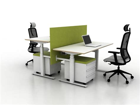 Office Desking Systems X Two Seat Office Desk Desking Systems From Ergolain Architonic
