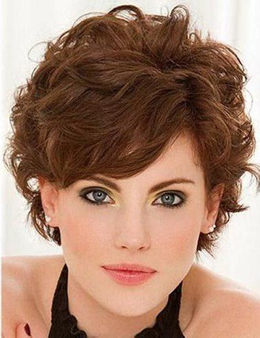 which hair style is suitable for curly hair medium height short curly hairstyles for women