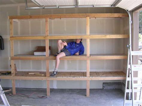 cheap garage shelving