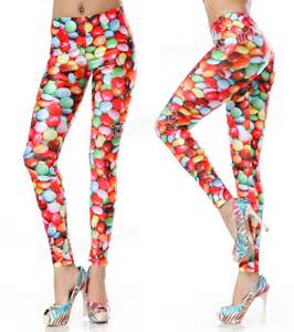 colorful tights colorful chocolate print tights ebay