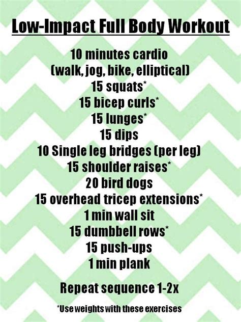 25 best ideas about low impact workout on