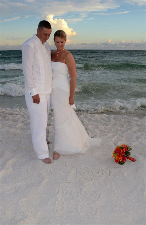 Linen Wedding Dresses by Wedding And Groom Wearing A Debra Torres