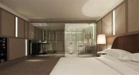 Bedroom With Bathroom Design Glass Wall Bathroom Bedroom Design Zeospot Zeospot