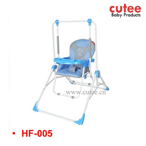 indoor swing chair with stand fashion adjustable folding firm bedroom swing baby indoor