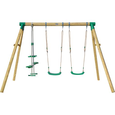 gliders for swing sets timber kids swing set with 2 swings and glider buy swings