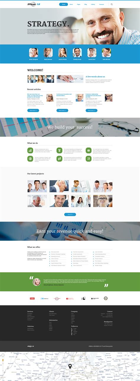 template joomla responsive blog business responsive joomla template 58597
