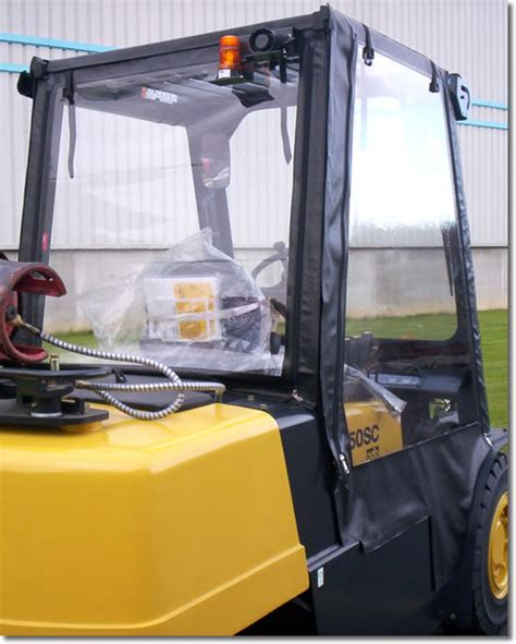 Forklift Cover by Fork Lift Cabs From Ukbmb Help Improve Productivity In The Workplace