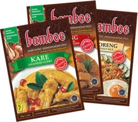 Kokita Bumbu Rendang Padang 180g bamboe instant seasoning citra sukses international