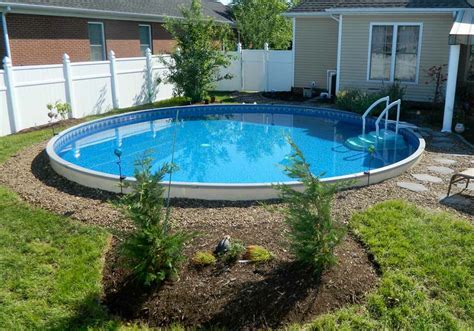 Radiant Semi Inground Pools