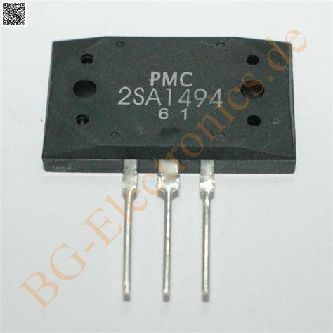 A 1494 C 3858 By Sinarteknik 2 x 2sa1494 2sc3858 4 komplement 228 re transistoren 200w