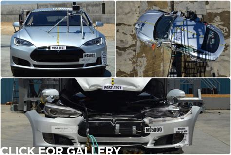 Tesla Model S Crash Test 27 5 Million Wrecked Jaguar New 1 100hp