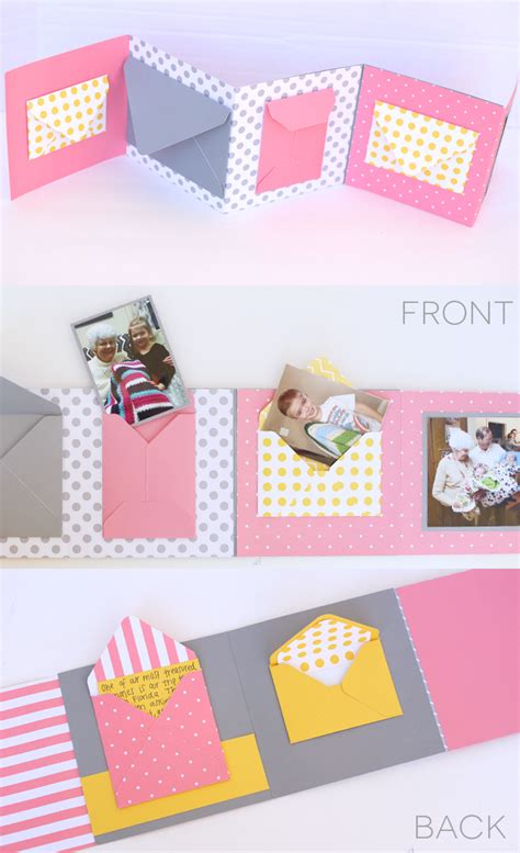 How To Make A Birthday Card Envelope Envelope Birthday Book With 1 2 3 Punch Board My Sister