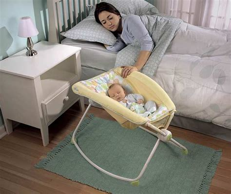 In Bed Baby Sleeper by Fisher Price Newborn Rock N Play Sleeper