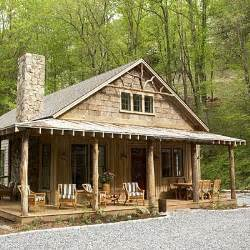Rustic Mountain Cabin Cottage Plans by A Refocused Life I Want One Of These
