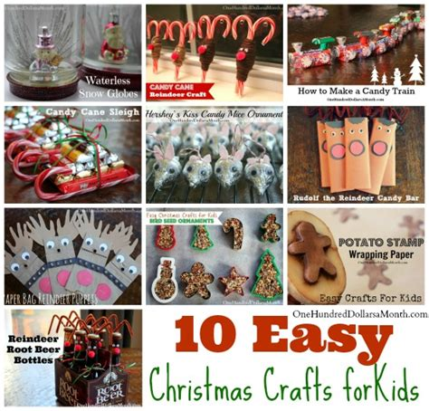 kid s christmas craft roundup 10 easy crafts one