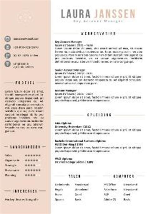Cv Sjabloon Student Cv Templates En Cv Voorbeelden Talent