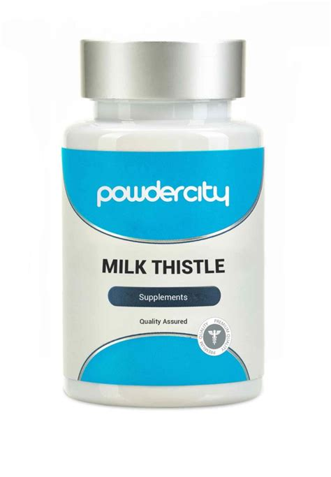 Dosage For Milk Thistle For Detox by Buy Milk Thistle Supplement Dosage Powder City