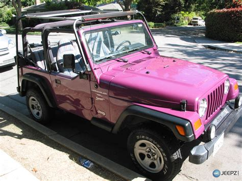 purple jeep cj i get to paint my jeep at what color