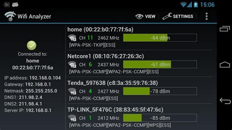 wifi android wifi analyzer alternatives and similar apps