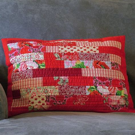 Patchwork Pillowcase Pattern - best 25 quilted pillow ideas on quilt pillow