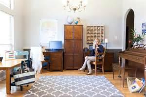 homework room dining room turned homework room design improvised