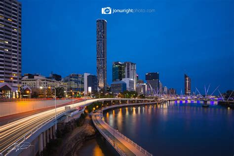 brisbane city fog qld australia jon wright photo