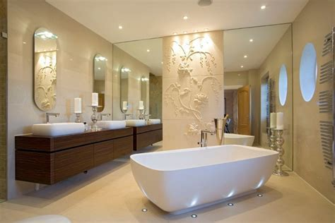 elegant bathroom lighting 21 floor lighting designs decorate ideas design