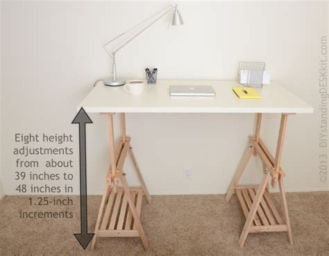 diy adjustable standing desk converter gallery