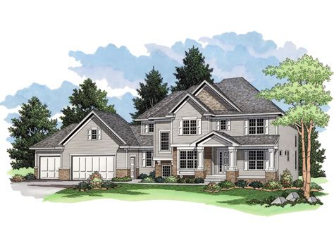 westwick country craftsman home plan 091d 0022 house