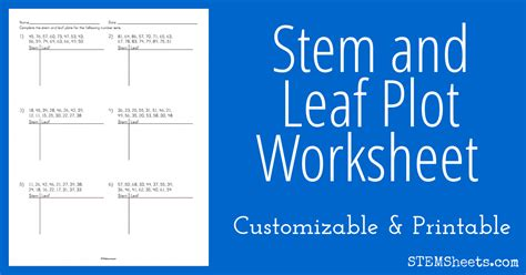 stem and leaf plot template stem and leaf plot template wzcs site
