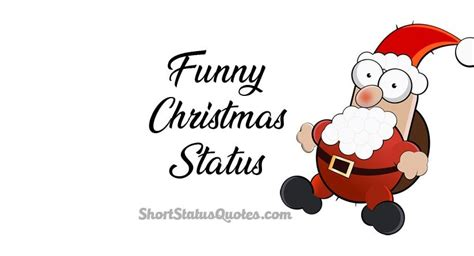 funny christmas status captions wishes