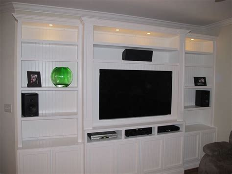 bloombety built in entertainment center with lcd tv captivating built in entertainment centers built in