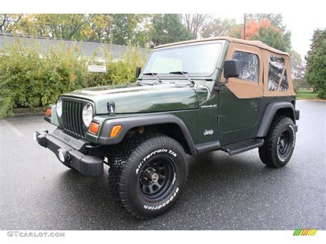 1998 Jeep Se 1998 Moss Green Pearl Jeep Wrangler Se 4x4 38342441