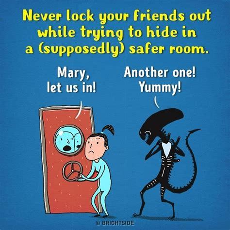 film kartun horor lucu 12 ilustrasi kartun lucu bikin film horor jadi nggak