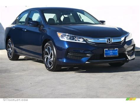 obsidian blue color 2016 obsidian blue pearl honda accord lx sedan 108550694