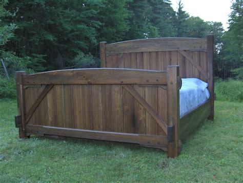 Timber Frame Bed Custom Timber Frame Bed By Beiler Woodworks Llc Custommade