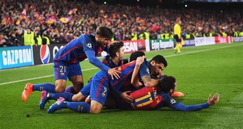 barcelona x psg resultado barcelona aplica goleada hist 243 rica contra o psg