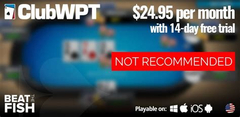 clubwpt poker review    important warning  players