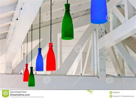immagini soffitti colorati le lanterne colorate decorative nell ambito di un soffitto