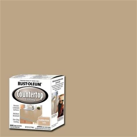 Rust Oleum Countertop Paint by Rust Oleum Specialty 1 Qt Cobblestone Premix Countertop