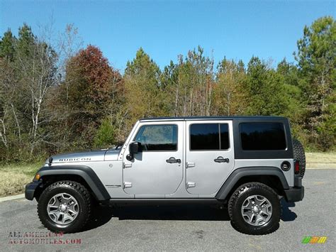 jeep rubicon silver 2018 jeep wrangler unlimited rubicon 4x4 in billet silver
