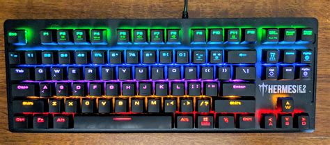 keyboard colors gamdias hermes e2 7 color mechanical gaming keyboard review