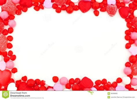 valentines day frame stock image image of shaped