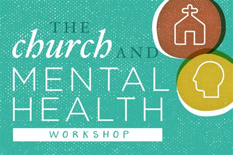 mental health and the church a ministry handbook for including children and adults with adhd anxiety mood disorders and other common mental health conditions books the church and mental health workshop audio presentations