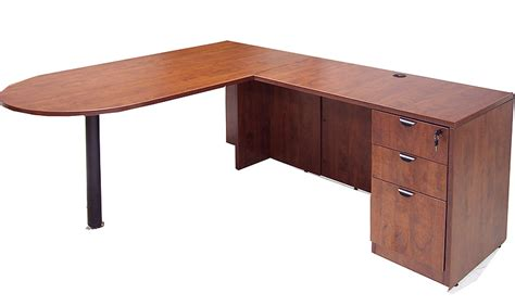l shaped peninsula desk complete peninsula u workstation w hutch free shipping
