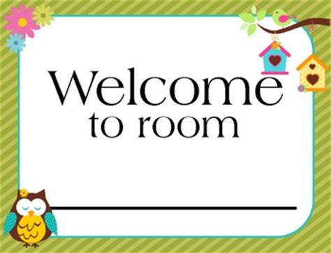 printable owl welcome sign welcome banner owl theme classroom decoration by