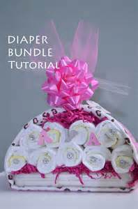 how to do baby shower tutorial stork bundle easy baby shower gift