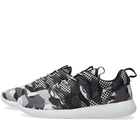 Nike Roshe One Camo Blacksummit White Bnib nike roshe one print summit white grey camouflage nike roshe
